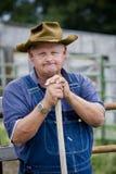 αγρότης που ματαιώνεται Στοκ Φωτογραφίες