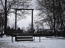Αγχόνες του Rudolf Höss's Στοκ φωτογραφία με δικαίωμα ελεύθερης χρήσης