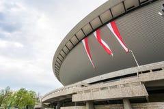 Αγωνιστικός χώρος αποκαλούμενο σε Katowice Spodek, Σιλεσία, Πολωνία Στοκ φωτογραφία με δικαίωμα ελεύθερης χρήσης