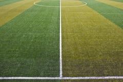 Αγωνιστικός χώρος ποδοσφαίρου Στοκ Φωτογραφίες