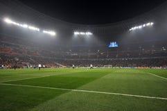 Αγωνιστικός χώρος ποδοσφαίρου Στοκ Εικόνες