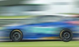 Αγωνιστικό αυτοκίνητο σε Thruxton UK Στοκ εικόνες με δικαίωμα ελεύθερης χρήσης