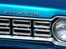 Αγωνιστικό αυτοκίνητο του Πλύμουθ Στοκ φωτογραφίες με δικαίωμα ελεύθερης χρήσης