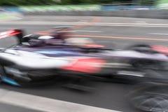 Αγωνιστικό αυτοκίνητο τύπου Ε στη διαδρομή φυλών Στοκ εικόνες με δικαίωμα ελεύθερης χρήσης
