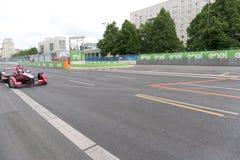 Αγωνιστικό αυτοκίνητο τύπου Ε McAfee στη πίστα αγώνων Στοκ φωτογραφία με δικαίωμα ελεύθερης χρήσης