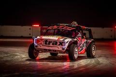 Αγωνιστικό αυτοκίνητο Autograss, Autosport διεθνές το 2016 Στοκ Φωτογραφία