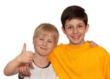 αγόρια δύο Στοκ φωτογραφία με δικαίωμα ελεύθερης χρήσης