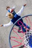 Αγόρια καλαθοσφαίρισης Στοκ Εικόνες