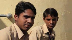 Αγόρια σπουδαστών στοκ εικόνες