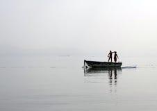 αγόρια δύο Στοκ Φωτογραφία