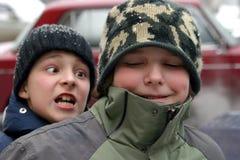 αγόρια Στοκ φωτογραφία με δικαίωμα ελεύθερης χρήσης