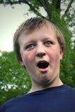 αγόρι έκπληκτο Στοκ φωτογραφίες με δικαίωμα ελεύθερης χρήσης