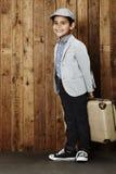 Αγόρι έτοιμο για τις διακοπές Στοκ εικόνες με δικαίωμα ελεύθερης χρήσης
