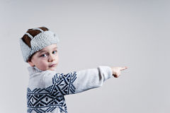 αγόρι λίγα Στοκ Φωτογραφίες