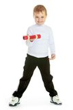 αγόρι λίγο στούντιο πορτρέ& Στοκ εικόνες με δικαίωμα ελεύθερης χρήσης