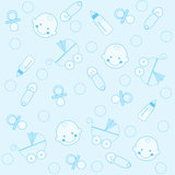 αγόρι ανασκόπησης μωρών απεικόνιση αποθεμάτων