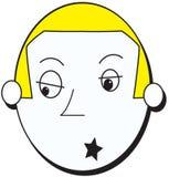 Αγόρι αστέρων της ροκ Στοκ εικόνα με δικαίωμα ελεύθερης χρήσης