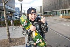 αγόρι αστικό Στοκ εικόνα με δικαίωμα ελεύθερης χρήσης