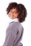αγόρι αφροαμερικάνων χαριτωμένο λίγο πορτρέτο Στοκ εικόνα με δικαίωμα ελεύθερης χρήσης