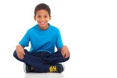 Αγόρι αφροαμερικάνων Στοκ εικόνες με δικαίωμα ελεύθερης χρήσης
