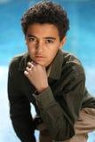 αγόρι αφροαμερικάνων Στοκ φωτογραφίες με δικαίωμα ελεύθερης χρήσης