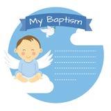 Αγόρι βαπτίσματος απεικόνιση αποθεμάτων