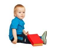 αγόρι βιβλίων Στοκ Φωτογραφία