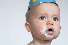αγόρι γενεθλίων Στοκ Φωτογραφίες