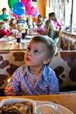 αγόρι γενεθλίων Στοκ Εικόνα