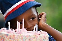 αγόρι γενεθλίων Στοκ φωτογραφίες με δικαίωμα ελεύθερης χρήσης