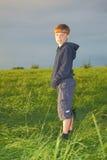 αγόρι δροσερό Στοκ Φωτογραφία