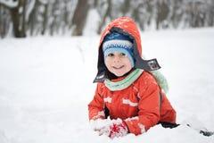 αγόρι ευτυχές λίγα Στοκ εικόνα με δικαίωμα ελεύθερης χρήσης