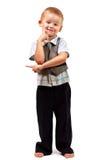 αγόρι ευτυχές λίγο στούν&tau Στοκ φωτογραφίες με δικαίωμα ελεύθερης χρήσης
