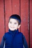 αγόρι ευτυχές λίγο χαμόγελο Στοκ φωτογραφία με δικαίωμα ελεύθερης χρήσης