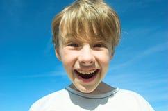 αγόρι ευτυχές Στοκ φωτογραφίες με δικαίωμα ελεύθερης χρήσης