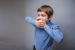 Αγόρι εφήβων 10 έτη ευρωπαϊκής εμφάνισης Στοκ εικόνα με δικαίωμα ελεύθερης χρήσης