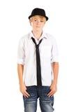 αγόρι εφηβικό Στοκ Φωτογραφίες