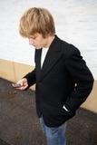αγόρι εφηβικό Στοκ εικόνα με δικαίωμα ελεύθερης χρήσης