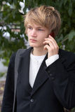 αγόρι εφηβικό Στοκ Φωτογραφία