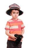 αγόρι ζωηρόχρωμο λίγος φω&t Στοκ Εικόνα