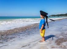 Αγόρι θαλασσίως στοκ φωτογραφίες με δικαίωμα ελεύθερης χρήσης