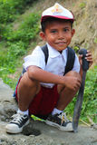 αγόρι Ινδονήσιος Στοκ Φωτογραφία