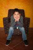 αγόρι ισπανικό Στοκ εικόνες με δικαίωμα ελεύθερης χρήσης