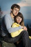 Αγόρι και κορίτσι Στοκ εικόνες με δικαίωμα ελεύθερης χρήσης