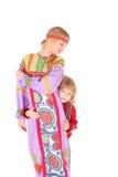 Αγόρι και κορίτσι στοκ εικόνα με δικαίωμα ελεύθερης χρήσης