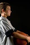 αγόρι καλαθοσφαίρισης Στοκ φωτογραφία με δικαίωμα ελεύθερης χρήσης