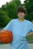 αγόρι καλαθοσφαίρισης Στοκ Εικόνα