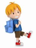 αγόρι λίγο περπάτημα Στοκ εικόνες με δικαίωμα ελεύθερης χρήσης