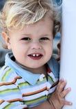 αγόρι λίγο χαμόγελο Στοκ Φωτογραφίες