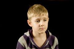 αγόρι λυπημένο Στοκ εικόνες με δικαίωμα ελεύθερης χρήσης